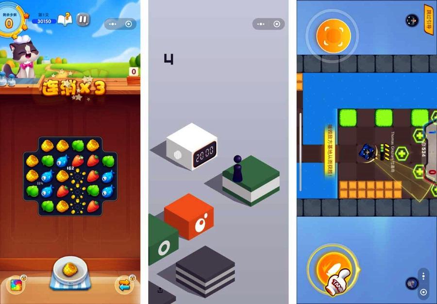 wechat mini-games вечат мини игры 2