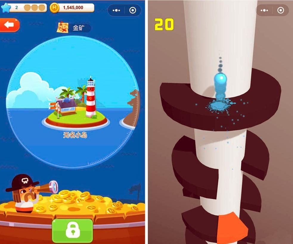 wechat mini-games вечат мини игры